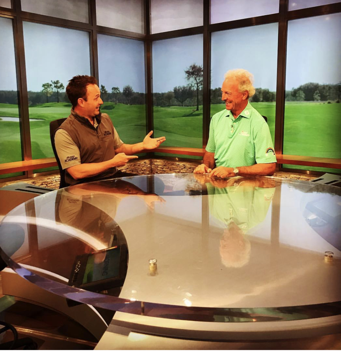 Garrett Froggate, Golf Channel Live